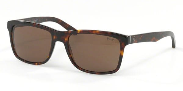 3a7f2bb9389da9 Polo Ralph Lauren PH4098 567373 Shiny Dark Havana Zonnebril Kopen ...