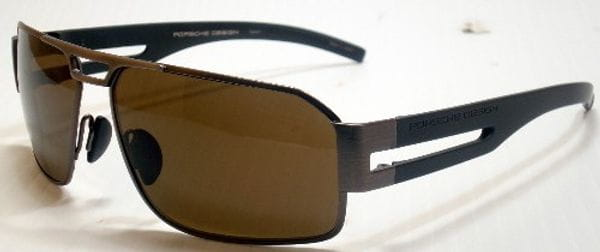 a67ec4e93891 Porsche Design P8460 A Sunglasses Brown | VisionDirect Australia
