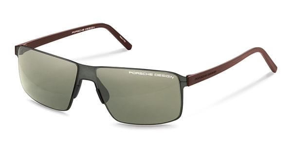 Porsche Design P8646 D Sunglasses Grey Visiondirect