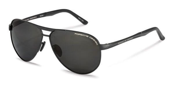 10eaeccebe43 Porsche Design P8649 A Sunglasses in Black