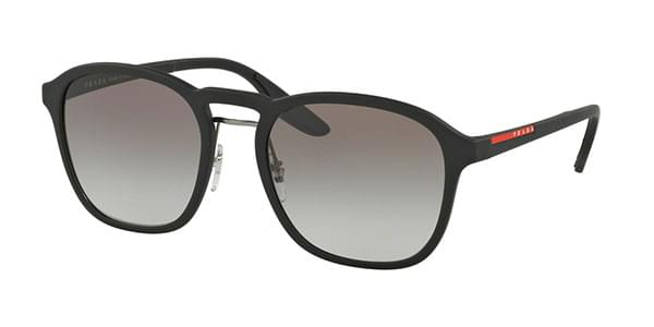 6ca165e55501a Prada Linea Rossa PS02SS DG00A7 Sunglasses in Black ...