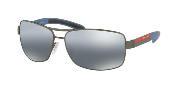 Prada Linea Rossa PS54IS Polarized DG12F2 Sunglasses Grey ... 3d147af080ea6