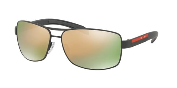 Prada Linea Rossa PS54IS TIG2D2 Sunglasses in Grey  58a69a459da50