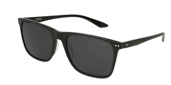 214353f502 Puma PU0127S Polarized 001 Sunglasses Black