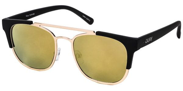 5cdc4cfb72 Quay Australia QU-000130 HIGH AND DRY GOLD GOLD Sunglasses in Gold ...