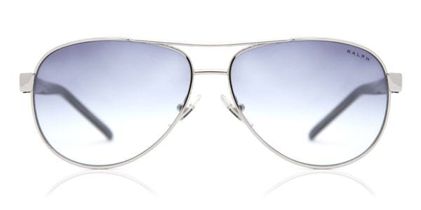 b0e40aaf666 Ralph by Ralph Lauren RA4004 102 19 Sunglasses in Silver ...