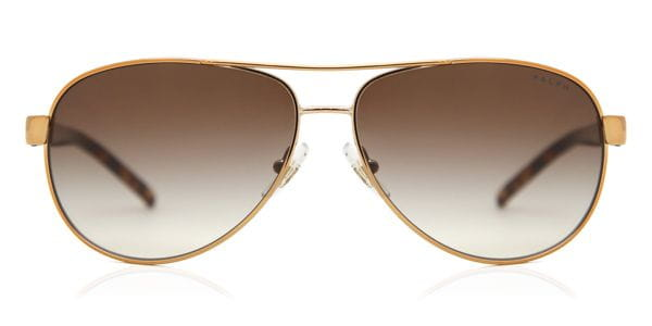 4773ce3f1b Ralph by Ralph Lauren RA4004 104 13 Sunglasses in Brown ...