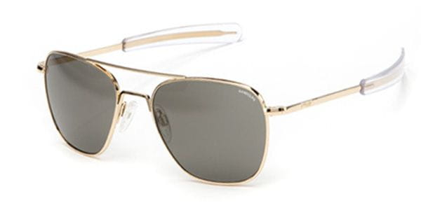 fb97dd5a7c Randolph Engineering Aviator Polarized AF108 Sunglasses in Gold ...