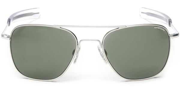 0c92f870bbd Randolph Engineering Aviator Polarized AF039 Sunglasses Silver ...