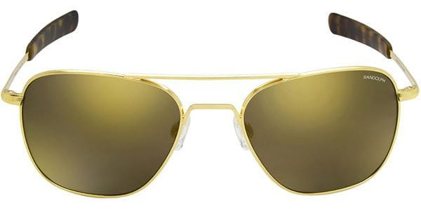 17de61de093f1 Randolph Engineering Aviator Polarized AF153 Sunglasses Gold ...