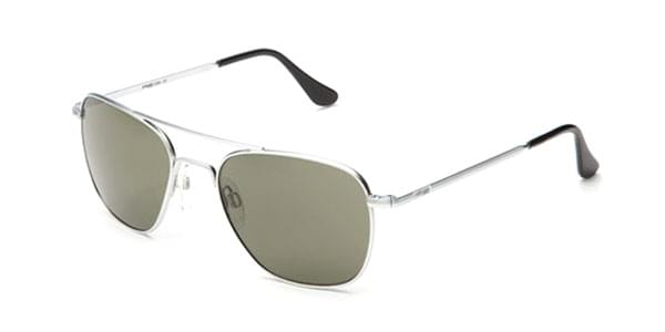 5e626753d23 Randolph Engineering Aviator Polarized AF083 Sunglasses Silver ...