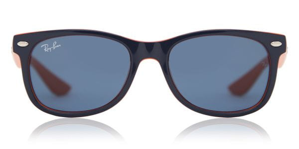 d9ab306d10e2 Ray-Ban Junior RJ9052S New Wayfarer 178 80 Sunglasses in Blue ...