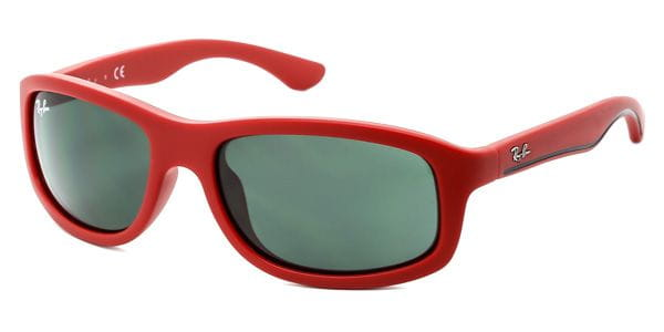 55a4f0677c Ray-Ban Junior RJ9058S 7002 71 Sunglasses in Red