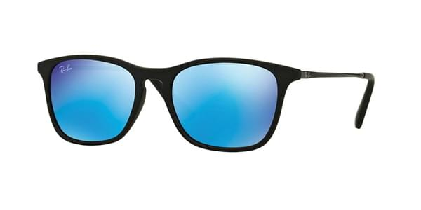 ee218a1e7e Ray-Ban Junior RJ9061S Chris 700555 Sunglasses Black ...