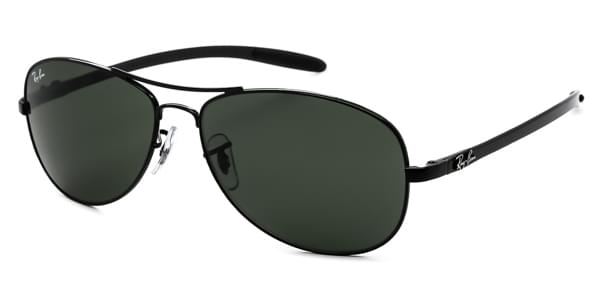 33caacdcf5e Ray-Ban Tech RB8301 Carbon Fibre 002 Sunglasses Clear ...