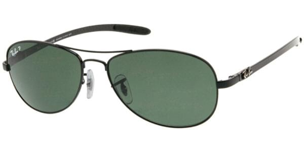 Ray-Ban Tech RB8301 Carbon Fibre Polarized 002/N5 Sunglasses