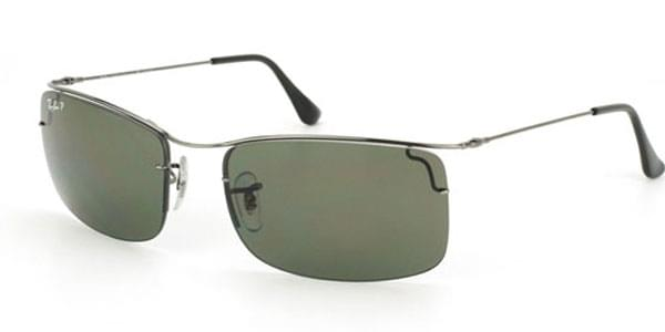 ccd063fb86 Ray-Ban Tech RB3499 Flip Out Polarized 004 9A Sunglasses in Grey ...