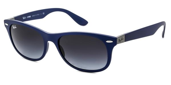 7074750ea7 Ray-Ban Tech RB4207 New Wayfarer Liteforce 60158G Sunglasses Blue ...