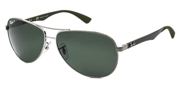 6a42e4a0ad ... best price ray ban tech rb8313 carbon fibre polarized 004 n5 sunglasses  cf2fd c8244