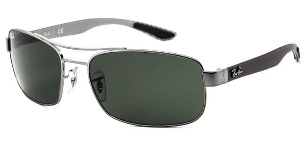 1afe073711 Ray-Ban Tech RB8316 Carbon Fibre 004 Sunglasses in Grey ...