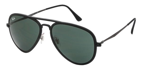 2c450a66b8 Ray-Ban Tech RB4211 Aviator Light Ray II 601S71 Sunglasses in Black ...