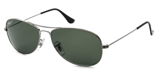 74efa7b7a35 Ray-Ban RB3362 Cockpit Polarized 004 58 Sunglasses Grey ...