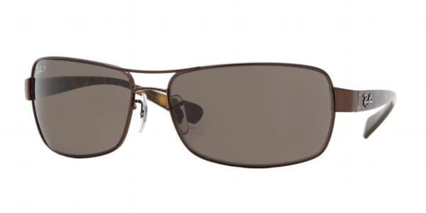 bbcc04382 Ray-Ban RB3379 Active Lifestyle Polarized 014/57 Sunglasses Brown ...