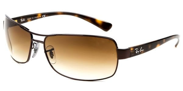 28ac38cab Ray-Ban RB3379 Active Lifestyle 014/51 Sunglasses Brown ...