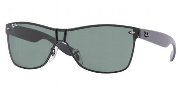 8019156439 Ray-Ban RB3384 006 71 Sunglasses in Black
