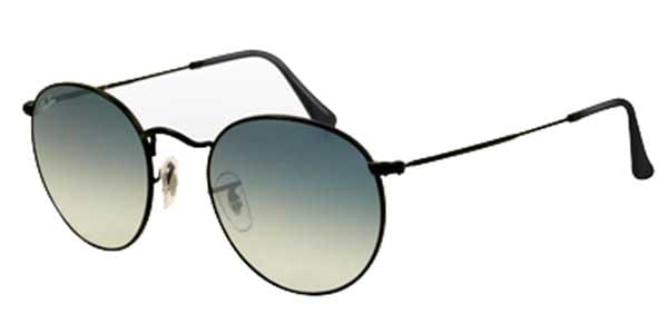 Ray-Ban RB3447 Round Metal 006 3F Sunglasses Black   SmartBuyGlasses ... 14843099daa1