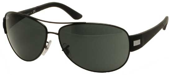 17a268bfd1bdb7 Ray-Ban RB3467 Active Lifestyle 006 71 Sunglasses Black ...