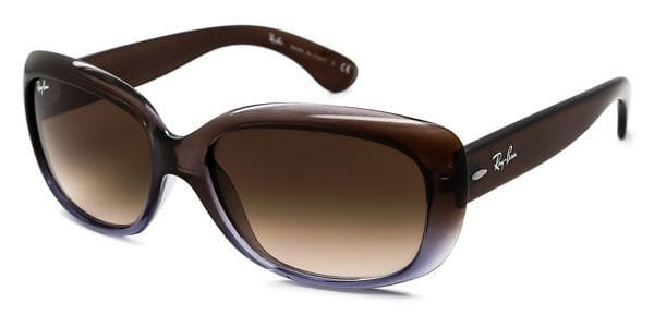 9ed8c998bb Ray-Ban RB4101 Jackie Ohh 860 51 Sunglasses Clear
