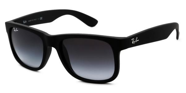 841727e805d7f Ray-Ban RB4165 Justin 601 8G Sunglasses Black   SmartBuyGlasses New ...