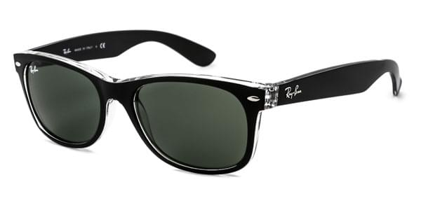 Ray-Ban RB2132 New Wayfarer Color Mix 6052 Sunglasses Black ... ead9d520e8