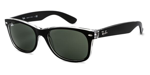 f18350d33d Ray-Ban RB2132 New Wayfarer Color Mix 6052 Sunglasses Black ...