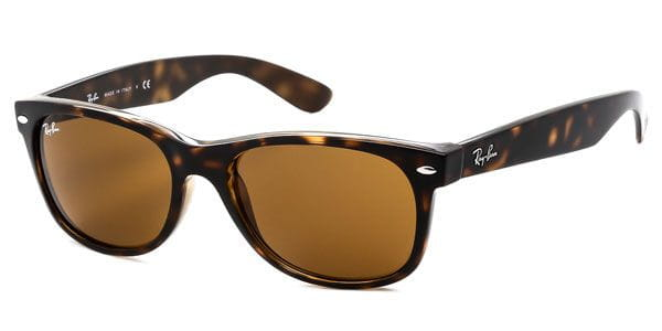 f19ce431491 Ray-Ban RB2132 New Wayfarer 710 Sunglasses in Tortoise ...