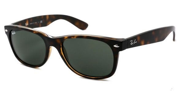 4e1e3fac2a Ray-Ban RB2132F New Wayfarer Asian Fit 902L Sunglasses Tortoise ...