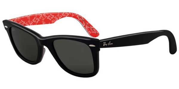 c7ad890cb Ray-Ban RB2140 Original Wayfarer Polarized 1016/58 Sunglasses Red ...