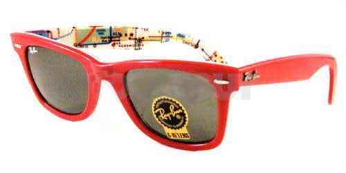 a0f9d77c47db2c Ray-Ban RB2140 Original Wayfarer 1031 Sunglasses in Red ...