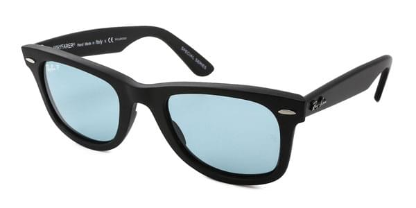 Ray-Ban RB2140 Original Wayfarer Polarized 901S 3R Sunglasses Black ... c8c65eaa782f