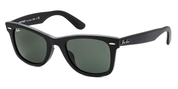 Ray-Ban RB2140-A Original Wayfarer (Asian Fit) 901S Sunglasses Black ... b754e8003698
