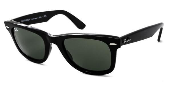 dc5f8f5f38261 Óculos de Sol Ray-Ban RB2140F Original Wayfarer Asian Fit 901 Preto ...