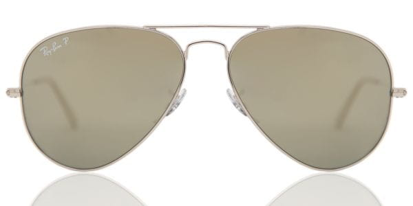 4c8fc09b1ba Ray-Ban RB3025 Aviator Large Metal Polarized 003 59 Sunglasses in ...