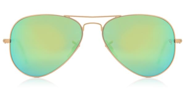 Ray-Ban RB3025 Aviator Flash Lenses 112 19 Sunglasses Gold ... 5c2d2fd182