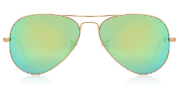 1700a3b5831 Ray-Ban RB3025 Aviator Flash Lenses 112 19 Sunglasses Gold ...