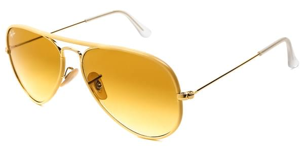 241d9080d3f Ray-Ban RB3025JM Aviator Full Color 001 X4 Sunglasses Gold ...