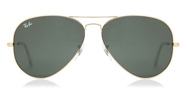 019626f1dad Ray-Ban RB3026 Aviator Large Metal II L2846 Sunglasses Gold ...