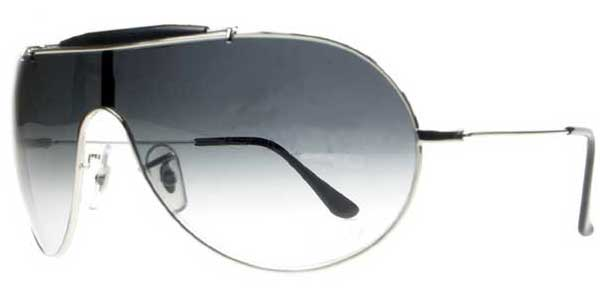 8abeab00960 Ray-Ban RB3184 Wings III 003 8G Sunglasses Silver