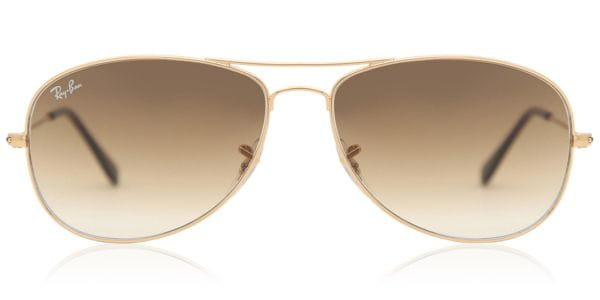 c3dbc2fc7e Ray-Ban RB3362 Cockpit 001 51 Sunglasses Gold