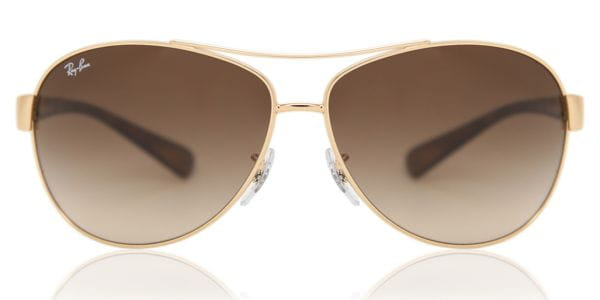 a8080d105ae Ray-Ban RB3386 Active Lifestyle 001 13 Sunglasses Gold ...